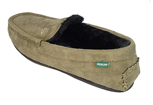Dunlop LEWIS, Herren Hausschuhe, Braun - Marrón - gris - Größe: 40
