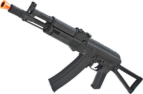 Evike - AK74 AK105 Full Metal Airsoft AEG Rifle w/Steel Stock & Lipo Ready Gearbox