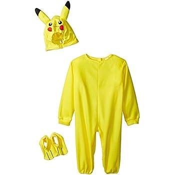 Rubies Pokemon Pikachu Toddler Jumpsuit Costume (Pikachu, 2T)