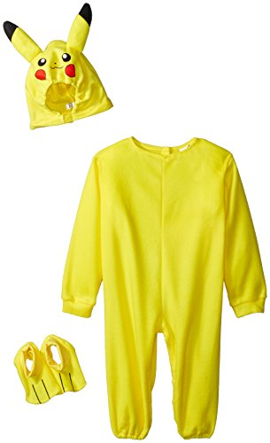 Family Fun Go Costumes (Rubies Pokemon Pikachu Toddler Jumpsuit Costume (Pikachu, 2T))