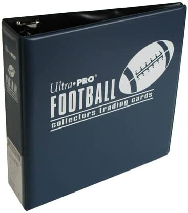 Ultra Pro 3-Ring (D-Ring Binder) Blue Football Card Album by Ultra Pro: Amazon.es: Deportes y aire libre