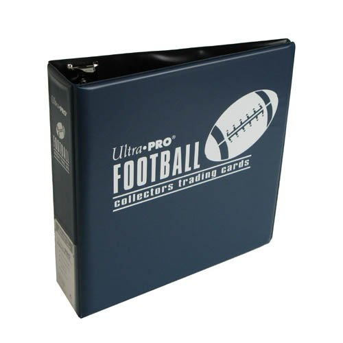 "Ultra Pro 3"" Blue Football Album from Ultra Pro"