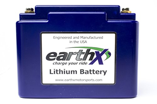 (EarthX ETX36C Blue Light Weight LiFePO4 Complete Battery (with Battery Management System for Performance And Longevity))