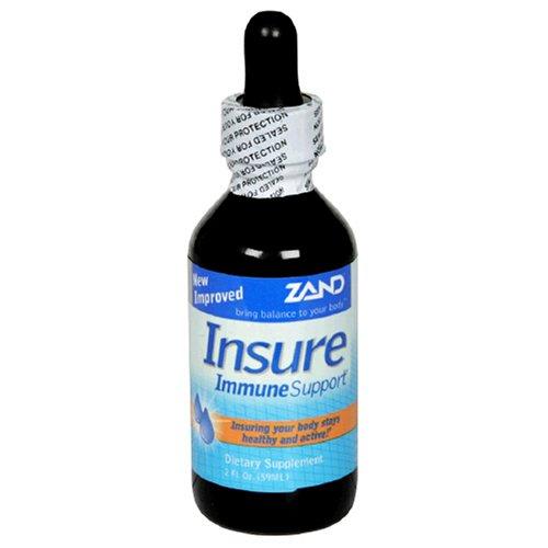 Zand Insure Herbal Immune Support, 2-Ounce (Insure Echinacea Herbal)