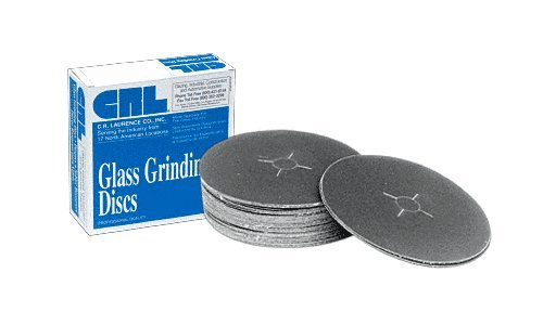 "CRL 7"" x 7/8"" 220 Grit Sanding Discs - 50 pack Review"