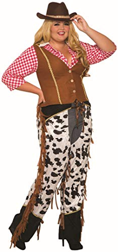 Forum Novelties Cowgirl Rancher, Multi, Plus