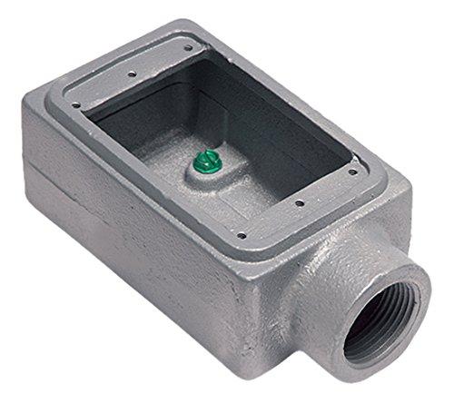 Malleable Iron FS Appleton FS-1-100 Cast Device Box 1 Gang 1 Hub