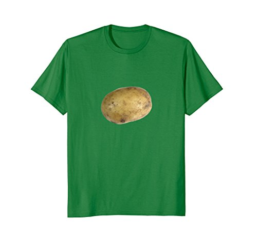 Mens Real Potato Photo Funny Starchy Vegetable Side Dish T-Shirt 2XL Kelly Green