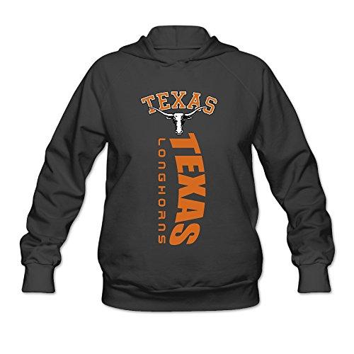 Price comparison product image AK79 Women's Hoodies Texas Longhorns College Size S Black