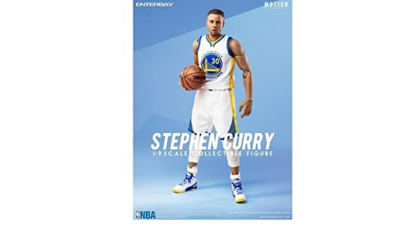 dbd5aa17e949 Amazon.com  NBA Collection Stephen Curry Motion Masterpiece 1 9 Scale  Action Figure by NBA  Toys   Games