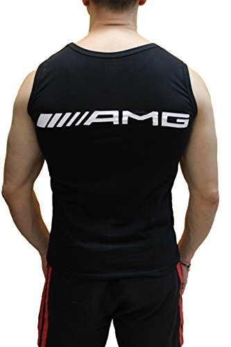 Amg T Sport shirt Mercedes Sans Benz Débardeur Homme Manches wgXnY1q