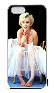Designed Marilyn Monroe iPhone 5 5S Hard Cases, Custom iphone 5 5s case