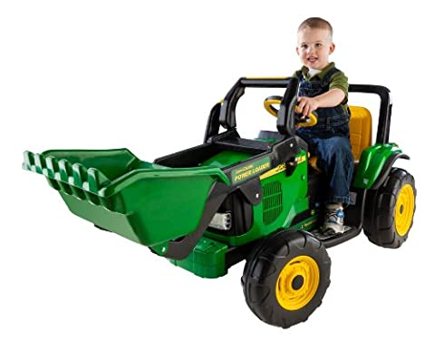 Peg Perego John Deere Power Loader (Discontinued by manufacturer) - Case Front End Loaders