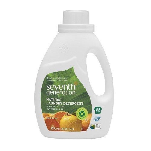 Seventh Generation Natural 2X Concentrated Liquid Laundry De