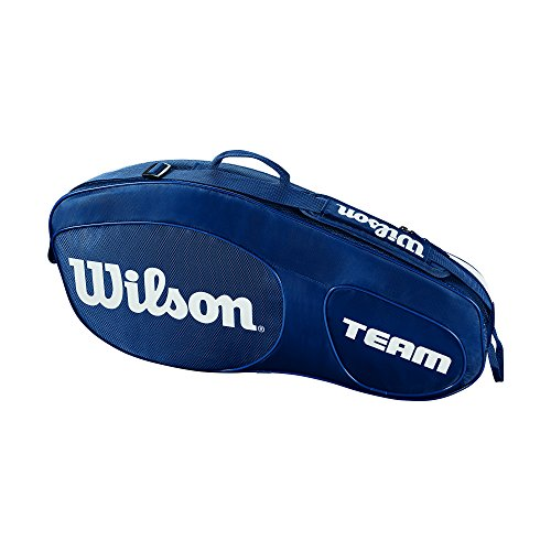 Wilson Team III 3 Pack Tennis Bag, Blue/White