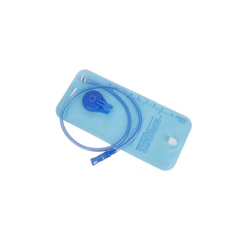 Milestone Unisex's Camping 24930 1.5 Litre Water Hydration Bladder| Volume Gauge | Drinking Spout | Leak Prevention Valve, Blue