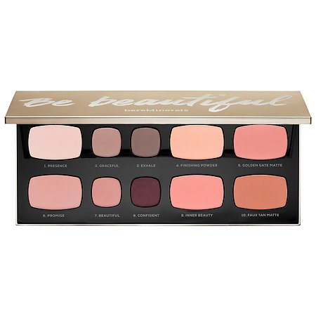 Be Beautiful Ready Face and Eye Palette by spr