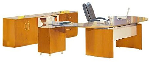 Mayline Napoli Series Suite #15 L-Shaped Desk,