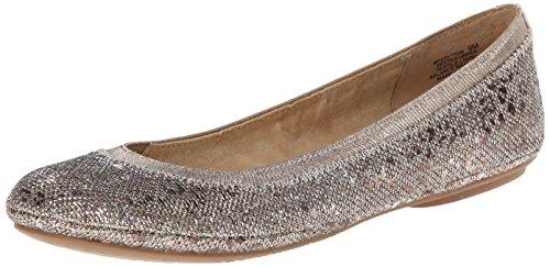 Bandolino Womens Edition Synthetic Ballet Flat BronzeMulti 8.5 M US