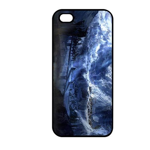 Coque,Phone Case Covers Vintage Coque iphone SE & Coque iphone 5 & Coque iphone 5S Casing Cover(Lord of the Rings Elves)