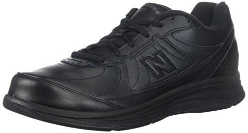 New Balance Men's MW577 Black Walking Shoe - 7.5 2E US ()