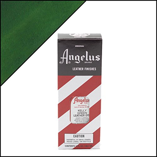 Angelus Leather Dye Kelly Green