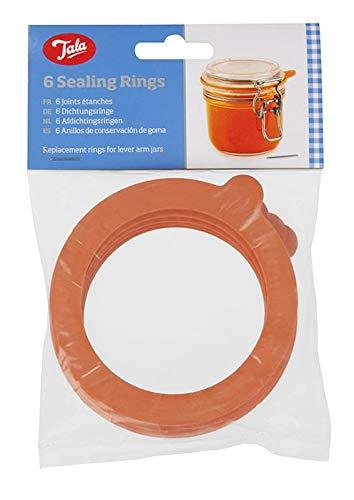 6 Pack 新着 Of ストアー Jar Sealing Rings B001DYQ22C