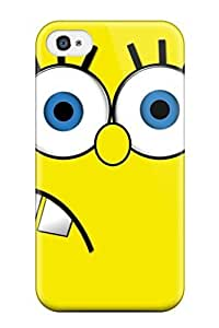 Fashion Tpu Case For Iphone 4/4s- Spongebob Defender Case Cover