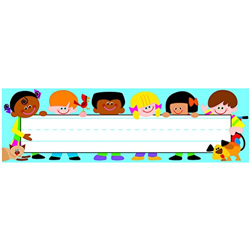 TREND enterprises, Inc. Trend Kids Desk Toppers Name Plates, 36 ct