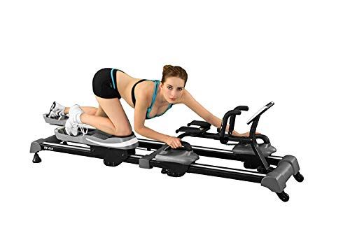 Back2Crawl Professional Series Bear Crawl Horizontal Exercise Machine, Black