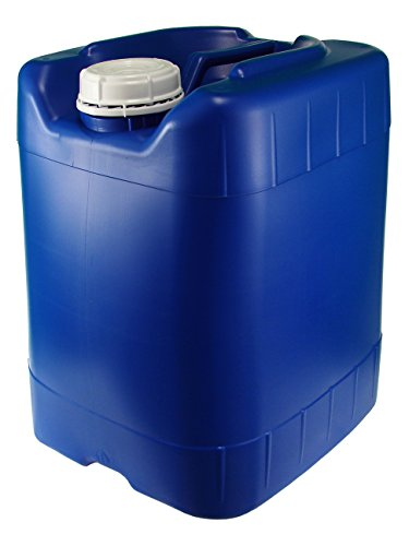 (API Kirk Blue 5 Gallon Samson Stacker Water Storage, Sturdy, Stackable)