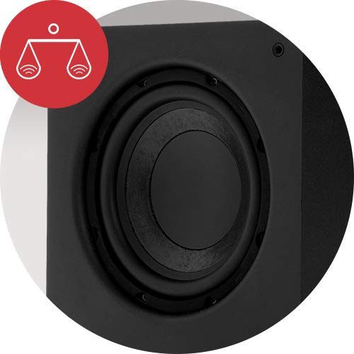 Polk Audio PSW111 Compact Powered 8'' Subwoofer | Up to 300 Watt Amp | Stylish Looks, Big Bass at Great Value | Easy Integration with Home Theater Systems by Polk Audio (Image #5)