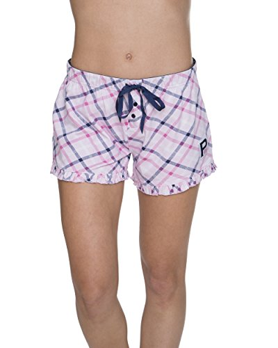 U.S. Polo Assn. Women's Elastic Waistband Lounge/Pajama Sleep Shorts