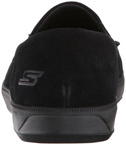 Skechers Mens Går Vulc 2-brant Loafer Svart