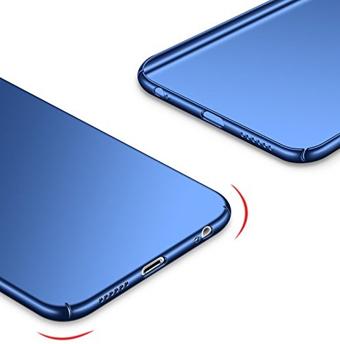 6S Choc Mince pour 6 7 Dur 4 Apple Anti 6 Mat Rayures iPhone Intgrale iPhone JEPER Coque Bleu Housse Protection 6S Anti PC Telephone Ultra Case Fini ZPqAntwU