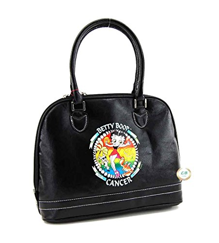 Betty Boop Zodiac Purse with Top Handles (Cancer)