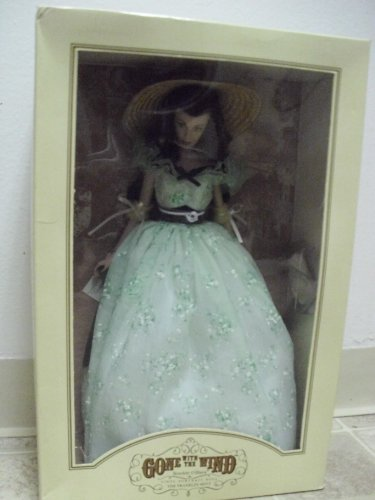 Gone with the Wind Scarlett O'hara Vinyl Portrait Doll the Franklin Mint ()
