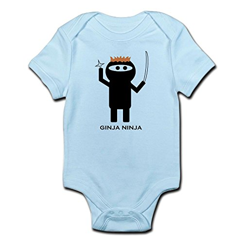 Redhead Infant Diaper (CafePress Ginja Ninja 1.PNG - Cute Infant Bodysuit Baby Romper)