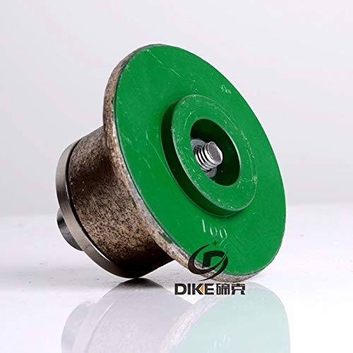 FINCOS 100# Shape A Diamond profiling Wheel Portable Grinding Machine for Stone Granite Concrete