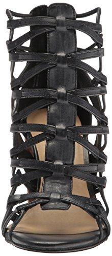 Chinese Laundry Women's Tegan Gladiator Sandal, Black Black Leather