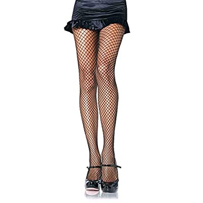 Leg Avenue Womens Spandex Industrial Fishnet Tights: Clothing
