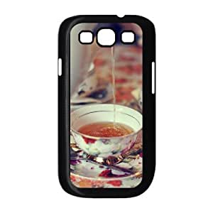 Afternoon Tea Custom Cover Case with Hard Shell Protection for Samsung Galaxy S3 I9300 Case lxa#411377