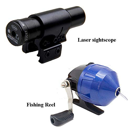 Smart Kingfisher Slingshot Fish Gun Speargun for Fishing, Hunting Spear Gun Multipurpose Shooting Support Arrow Ammo Equipted with Reel Sight Scope by Smart Kingfisher (Image #4)