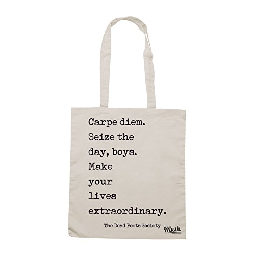 Borsa DEAD POET SOCIETY QUOTES - Sand - FILM by Mush Dress Your Style