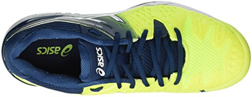 Gel White 6 Asics Safety Poseidon Tennis Multicolore Yellow Homme Chaussures de Resolution gCqdx6Cw