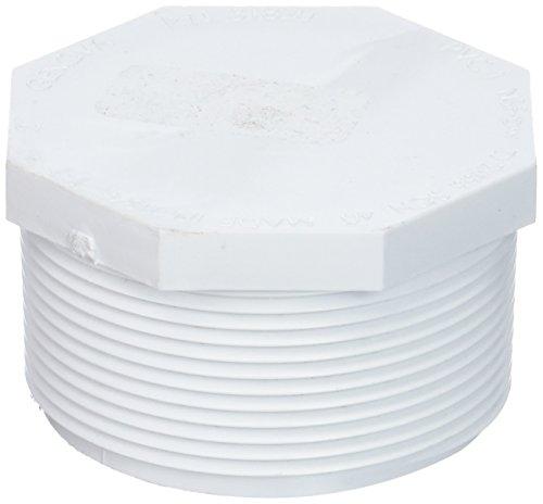 Genova Products 31820 PVC SCH. 40 Threaded Plugs, 2