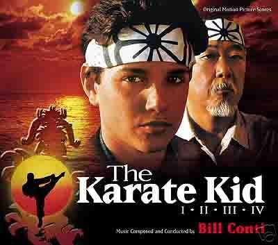 The Karate Kid I - II - III - IV Original Motion Picture Soundtrack Scores by Varese Sarabande