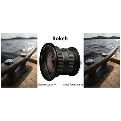 Lightdow 15mm F/4 1:1 Macro + Wide Angle FF(Full-frame) Prime Lens ...