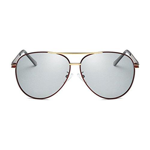 Aoligei Couleur photosensible Polarized jour comme de nuit double usage UV Shing de lunettes de soleil IcsrwMf