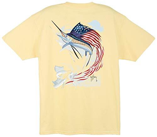 Guy Harvey Star Spangled Guy T-Shirt (X-Large, ()